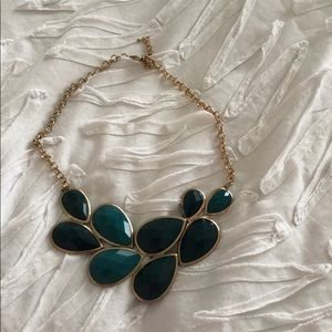 Teal/green necklace